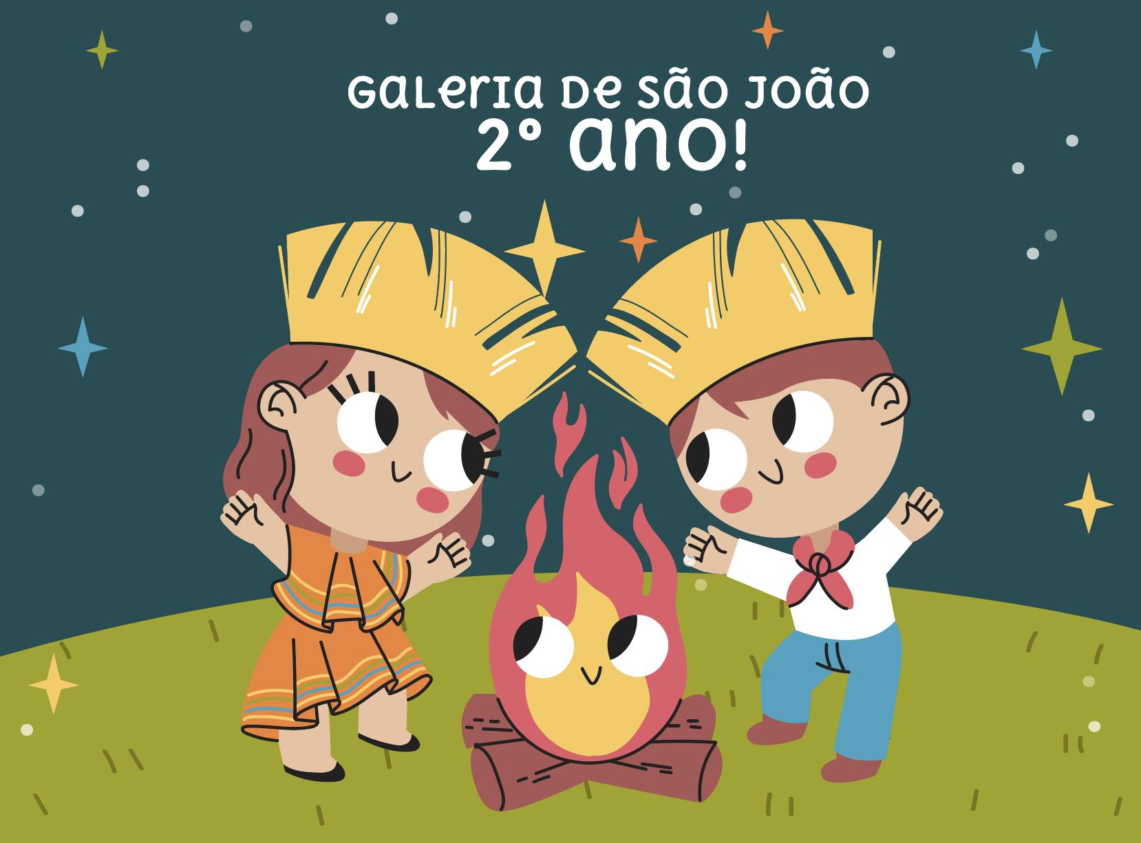 Galeria de São João – 2º ano