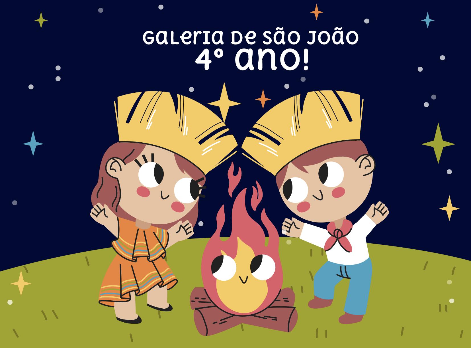 Galeria de São João – 4º ano